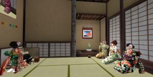 kamiさん、濃茶を一口頂く