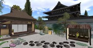 南禅寺のとなりに茶室